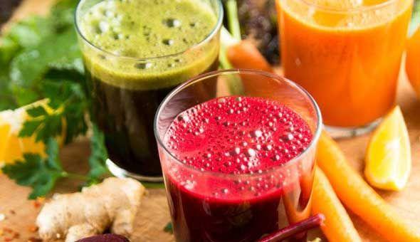 Receita de sucos desintoxicante para emagrecer rápido