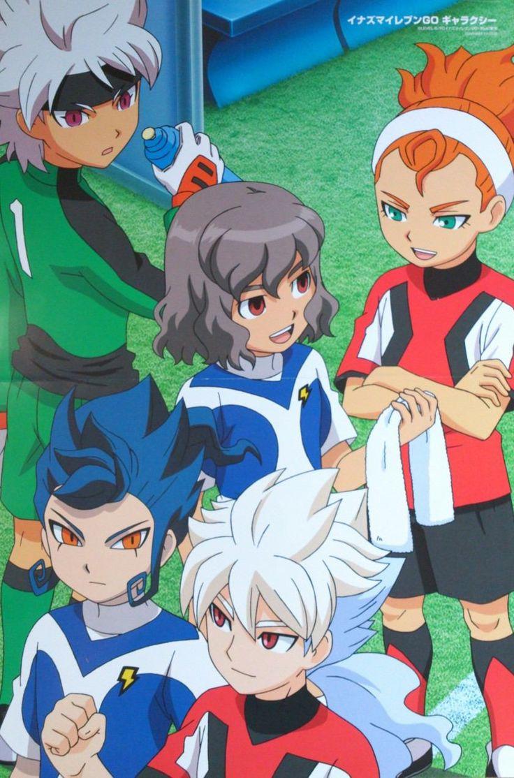 Poster Inazuma Eleven GO Galaxy