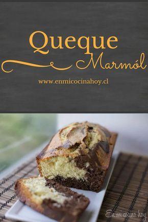 El queque mármol o marmoleado es un queque con sabor a vainilla y chocolate que se mezclan en cada bocado. Un éxito seguro en cualquier casa.