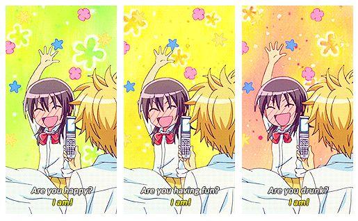 kaichou wa maid sama usui takumi misaki ayuzawa anime funny