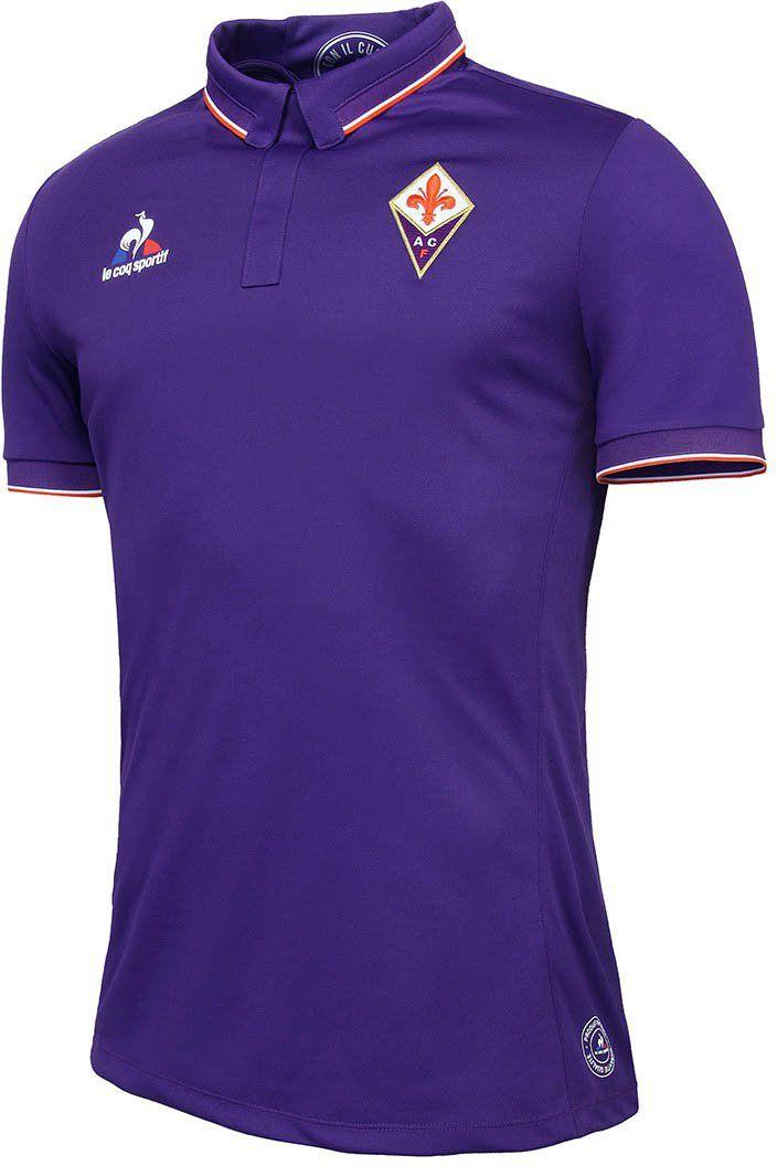 ACF Fiorentina Home LE COQ SPORTIF Viola 2018 - 19 FÚTBOL SOCCER CLUB KIT  CALCIO SHIRT 8c75b6ba36428