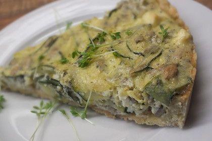 Schafskäse - Zucchini - Quiche, ein tolles Rezept aus der Kategorie Tarte/Quiche. Bewertungen: 360. Durchschnitt: Ø 4,5.