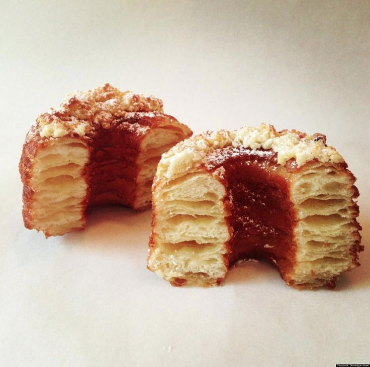 "Cronut Fever Taking New York (And The Country) By Storm ~ The ""cronut"" is a donu"