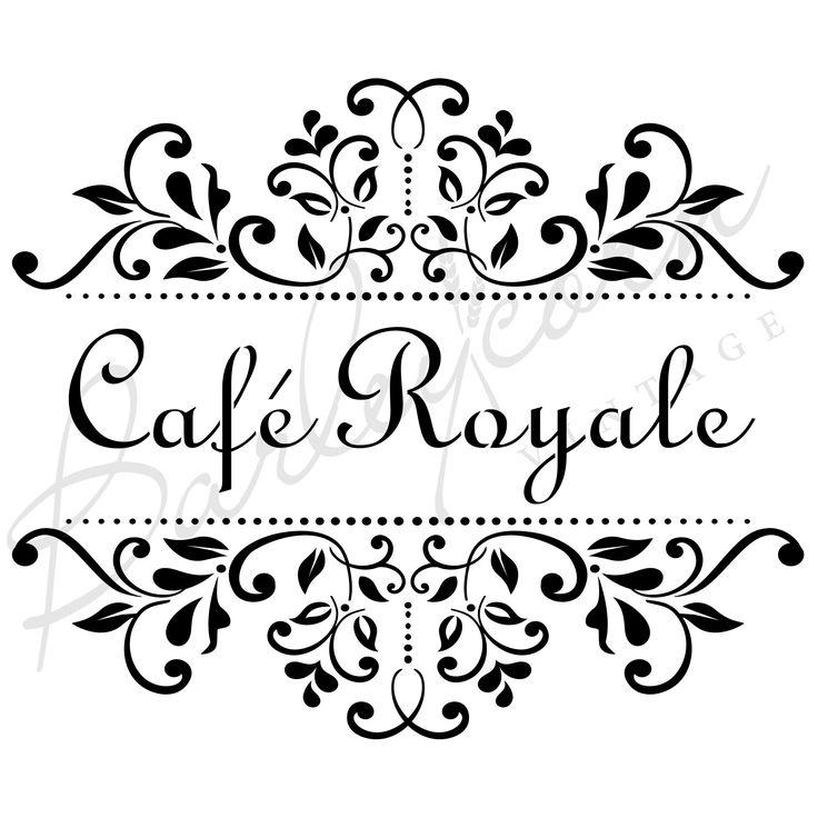 FS46 CAFE ROYALE STENCIL