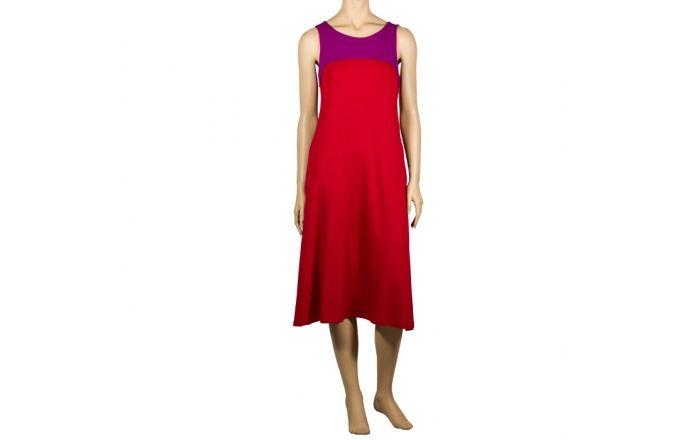 Vestido de tirantes Party en rojo y morado #verano2016 #Dress #CasualFashion