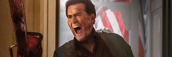 New ASH VS EVIL DEAD Images Break out the Blood and Chainsaws