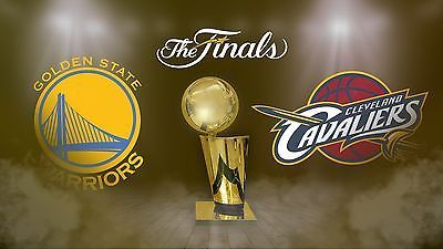 NBA finals Tickets Cavs Warriors Game 3 Lower level - 3 Tickets
