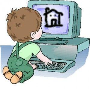 Los niños se pueden educar utilizando la tecnología.