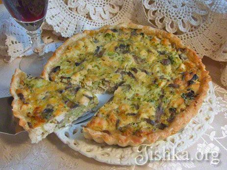 Французский пирог киш рецепт с фото