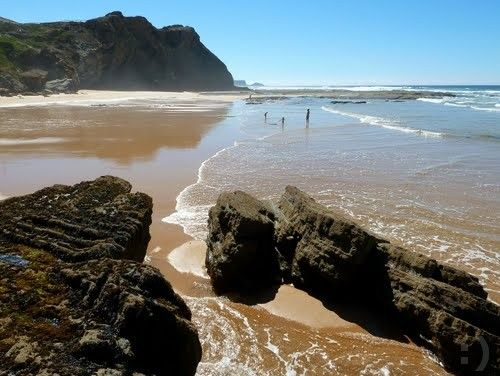 Praia Vale de Figueiras em Aljezur…