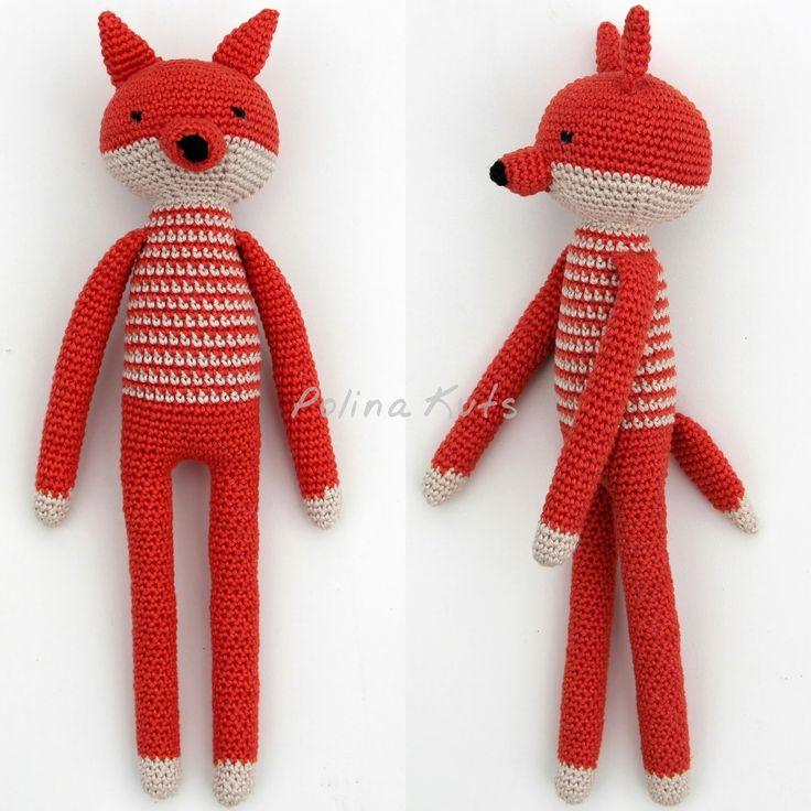 Недавно я разработала схемы вязания для  компании лесных зверей : зайца, лисы, волка и медведя. Все они похожи друг на друга и сделаны в од...