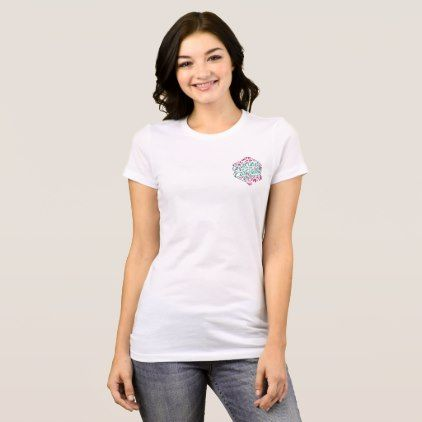 Geek Girls of the East Valley Small LogoT T-Shirt - girl gifts special unique diy gift idea
