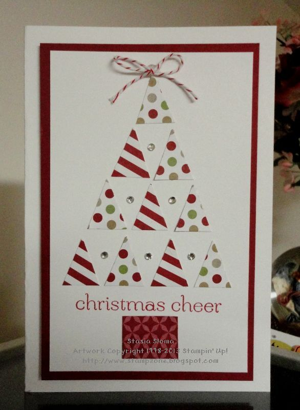 Stampin' & Scrappin' with Stasia: Trendy Triangles