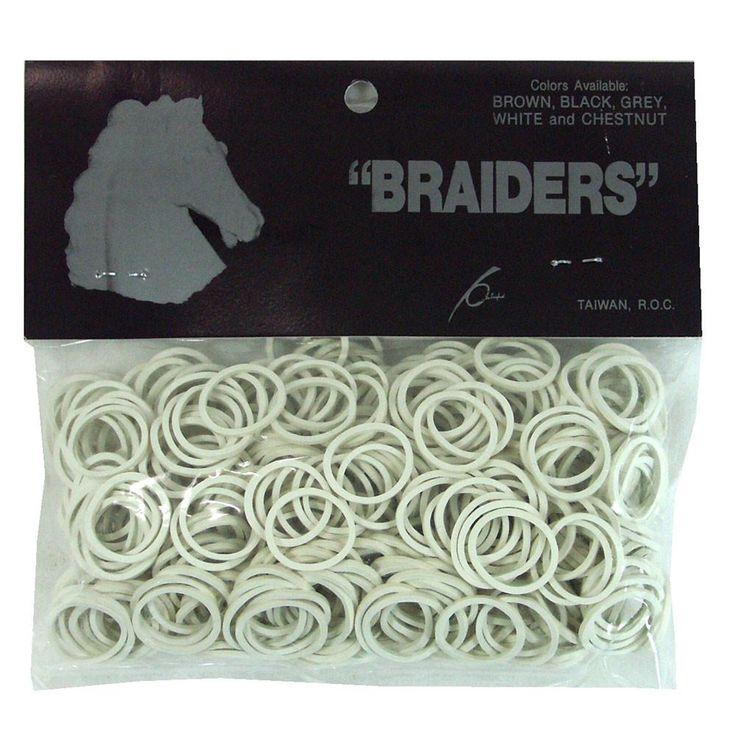 Braid Bands - White