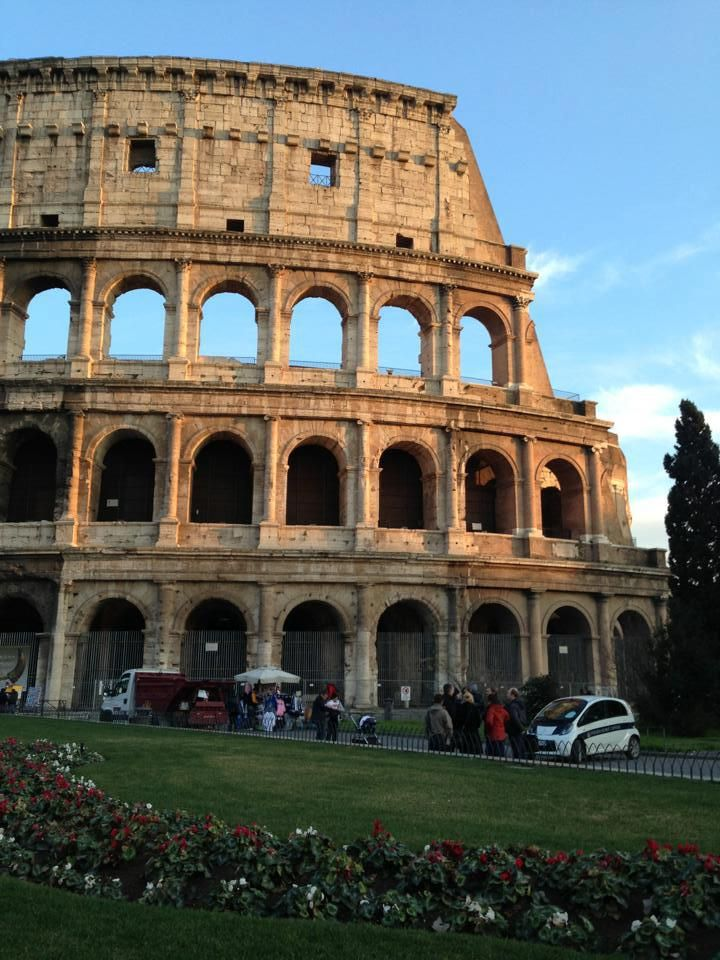 Shot I took of the Colosseum in Rome.