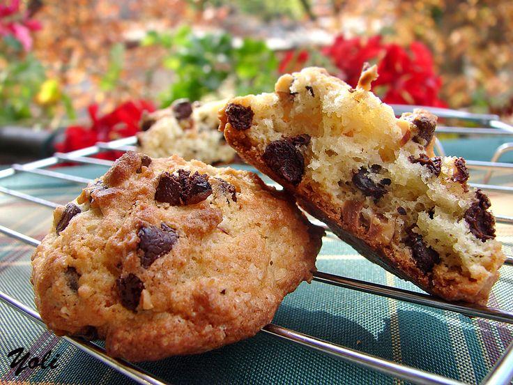 бисквити с рикота и шоко чипс