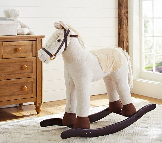 20 best horse theme girls rooms images on pinterest bedroom jumbo horse rocker pottery barn kids negle Choice Image