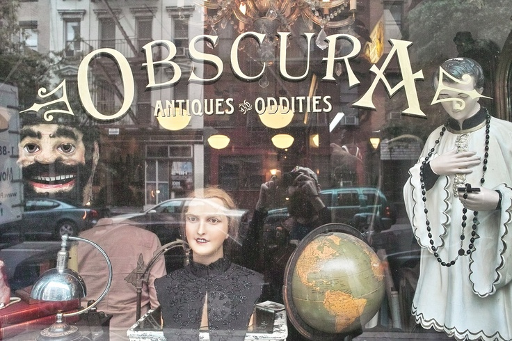 Oddities--LOVE LOVE LOVE this show and MUST visit this store one day!