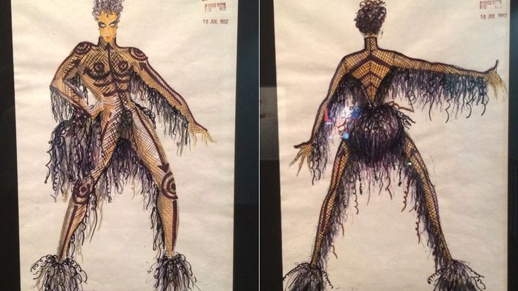 Fifth Element concept art reveals Prince's original look as Ruby Rhod
