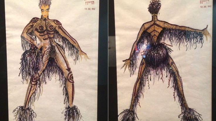 Fifth Element concept art reveals Prince's original look as Ruby Rhod