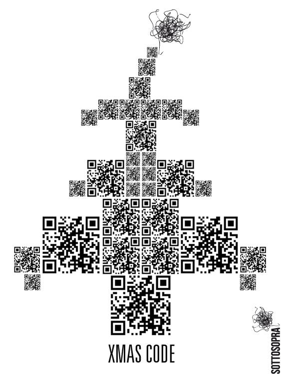 Xmas Code by #Sottosopra   #Sottosopracomunicazione  #christmas tree
