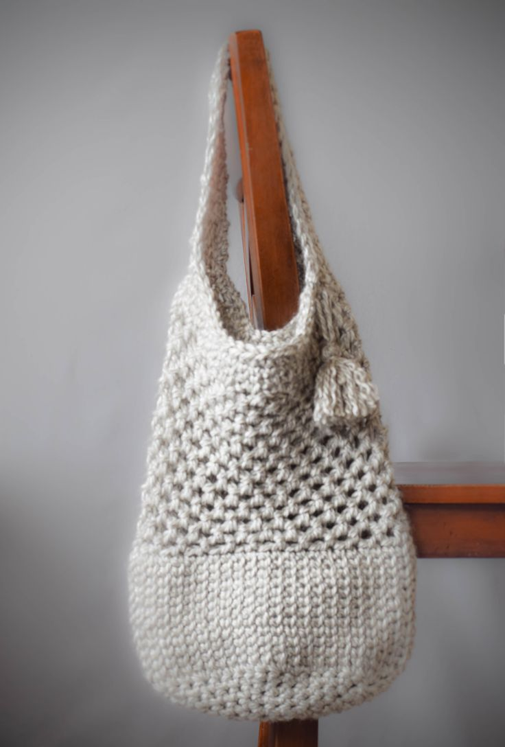 Knitting Bag Patterns Beginners : Images about free crochet projects and inspiration