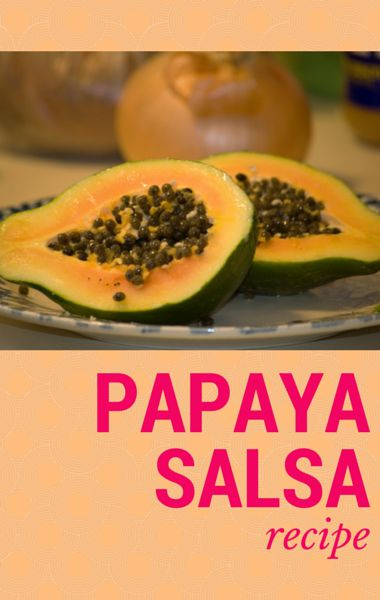 Dr. Oz's daughter Daphne Oz came by to make a great Papaya Salsa, which is both low-calorie and delicious. http://www.wellbuzz.com/dr-oz-recipes/dr-oz-daphne-oz-papaya-salsa-recipe/