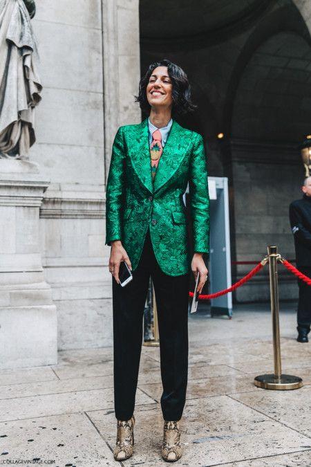 Pfw Paris Fashion Week Fall 2016 Street Style Collage Vintage Stella Mccartney Yasmin Sewell Gucci 2