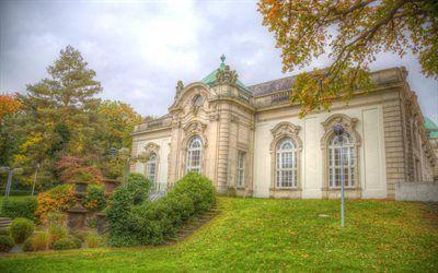 Scarica sfondi city park, westfalia orientale, bad oeynhausen, germania