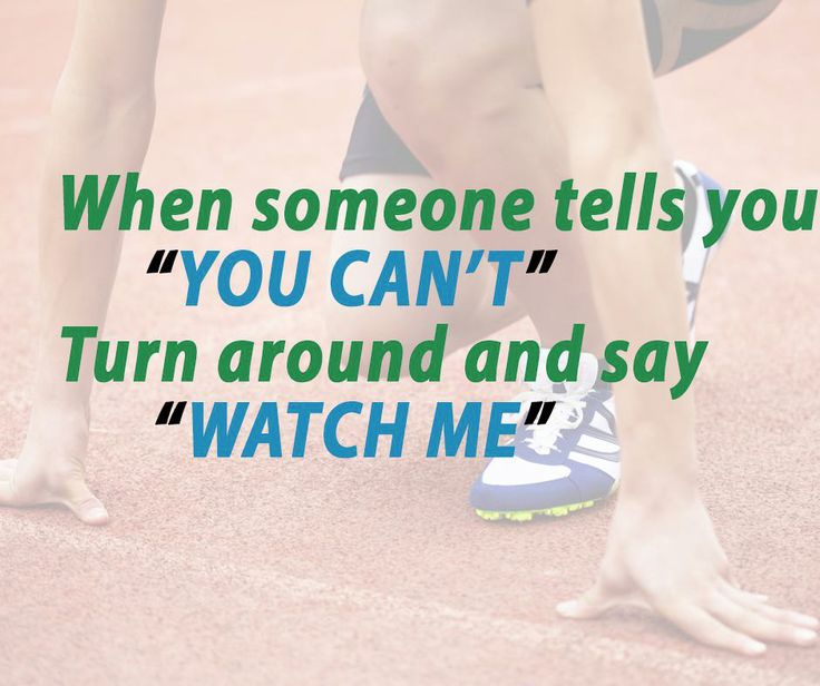 """When someone tells you """"you can't"""" turn around and say """"watch me"""" #SundayMotivation #TopGearSport"""