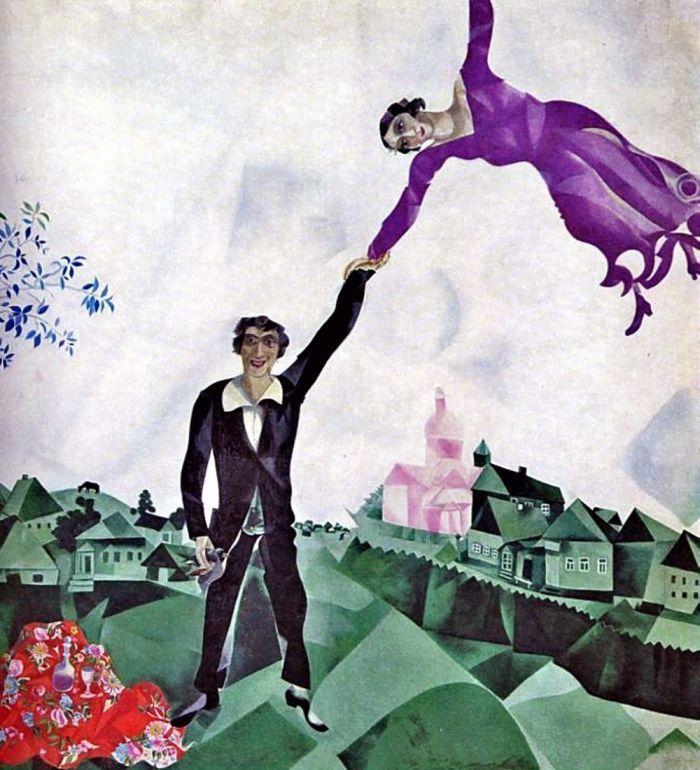 La retrospettiva di Marc #Chagall in mostra al Palazzo Reale