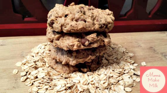 Lactation Cookies for increasing breast milk by MomsMakeMilk