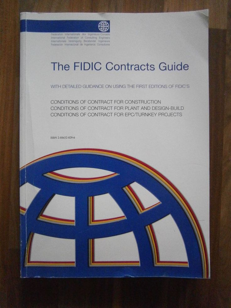 The FIDIC contracts guide : conditions of contract for construction, conditions