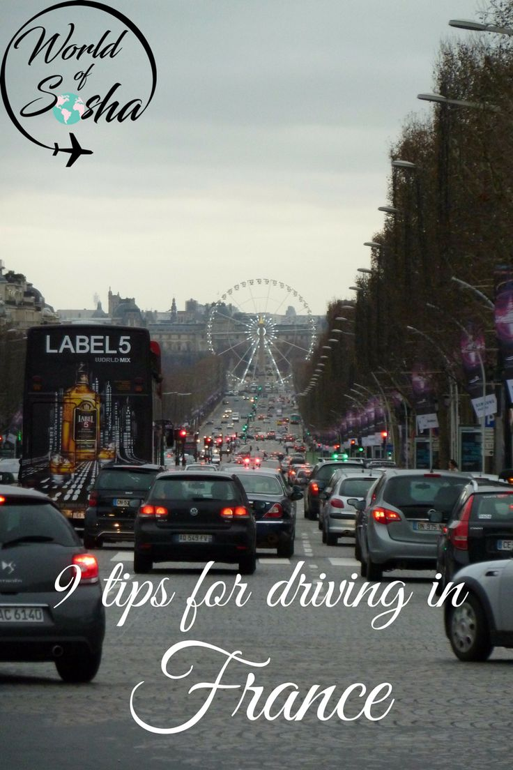 9 tips for driving in France – World of Sosha