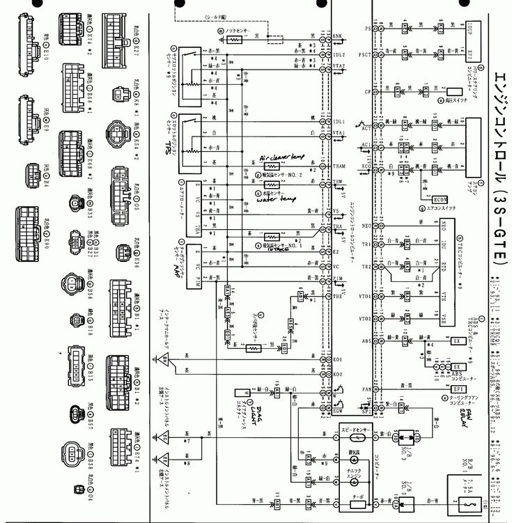 16  3s Fe Engine Control Wiring Diagram