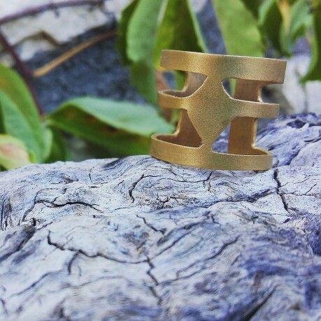 Handmade#jewellery#ring#goldplated#greek#design#metalsmith#χειροποιητο#επιχρυσο#δαχτυλιδι#