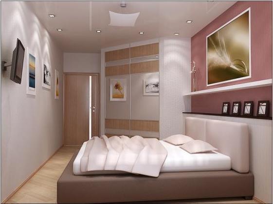 Дизайн маленькой спальни 10 кв. м: советы по оформлению интерьера