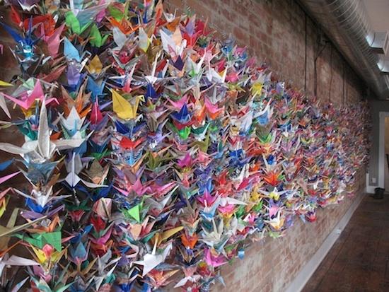 1000 paper crane images galleries for 1000 paper cranes wedding decoration