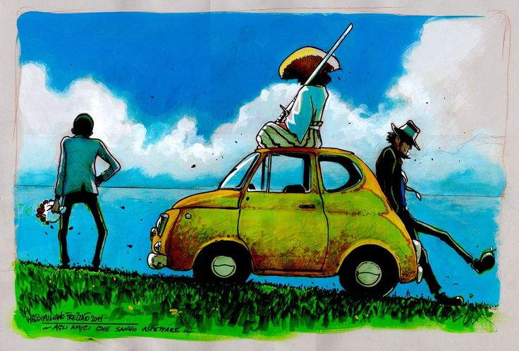 Lupin The Third by artist Massimiliano Frezzato
