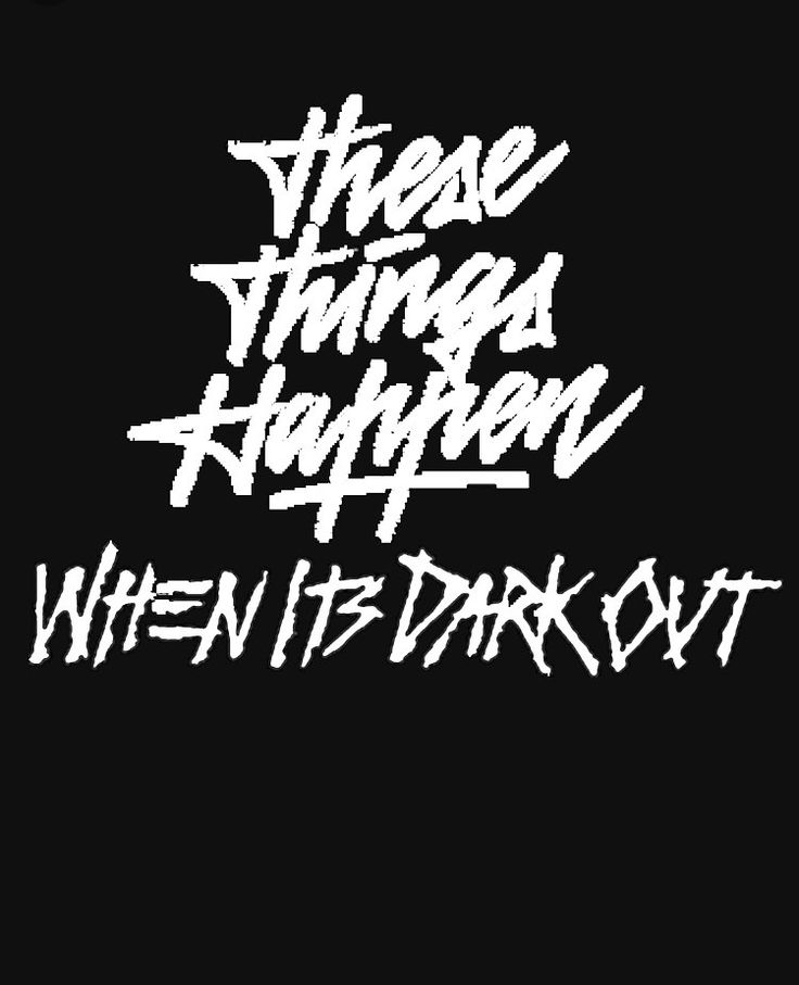 G eazy these things happen when it's dark out