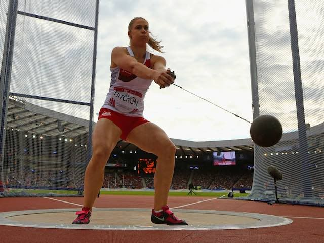 Result: Great Britain's Sophie Hitchon takes hammer throw bronze