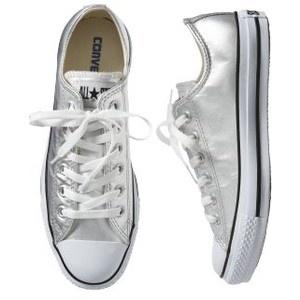 silver converse I NEEEEED THEM!