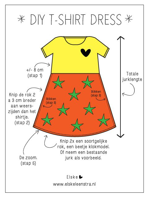 Elske: back-to-school dress DIY