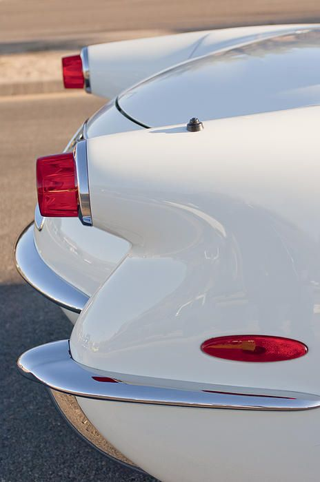 1953 Chevrolet Corvette Tail Lights Photograph by Jill Reger -