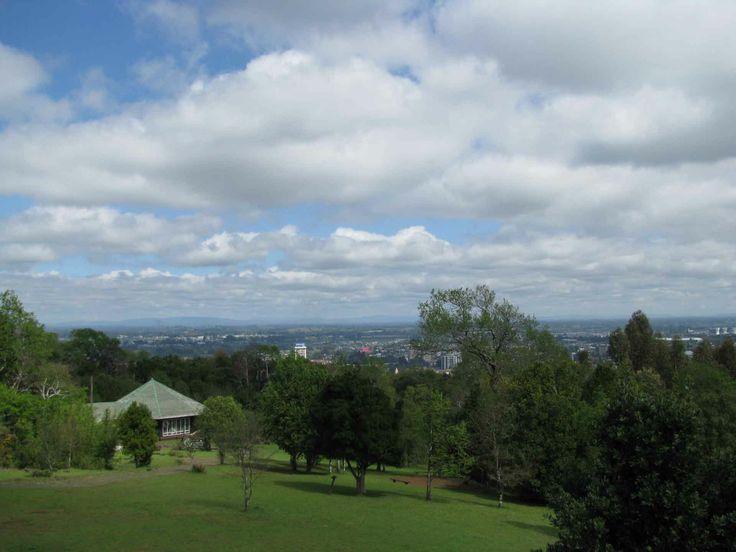Vista de Cerro Ñielol, Temuco. // View of ñielol Hill, Temuco. (IX Región)