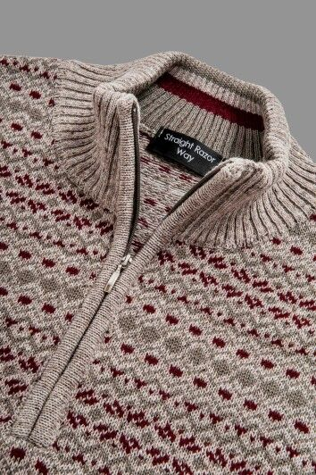 Straight Razor Way knitwear