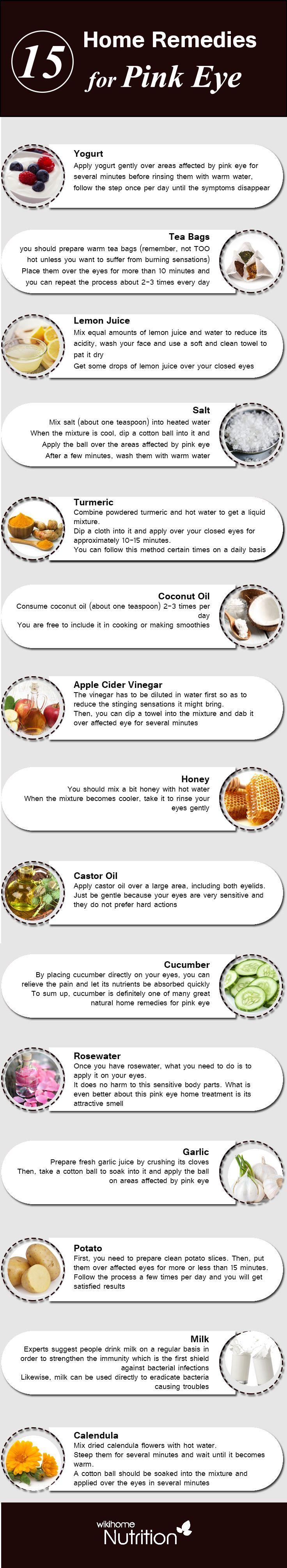 Home remedies for Pink Eyes: pink eye is the case when the eye lining becomes red and swollen, along with painful feeling. Check out How to get rid of Pink Eyes
