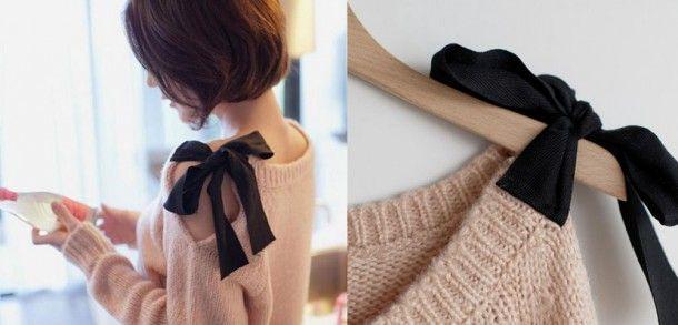 Leuk idee om je oude trui te pimpen Door gaya91