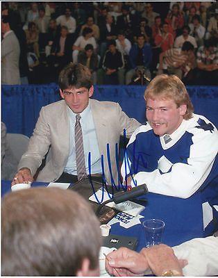 Toronto Maple Leafs Wendel Clark Signed 8x10 Photo w Proof 1 | eBay