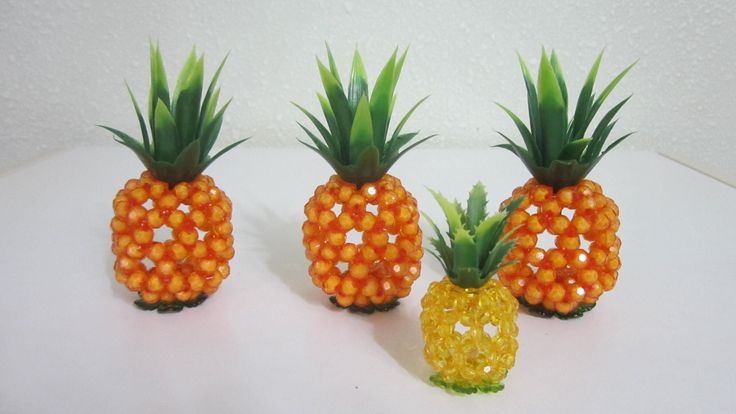 CNY TUTORIAL NO. 35 - Bead Craft (Sitting Pineapple)
